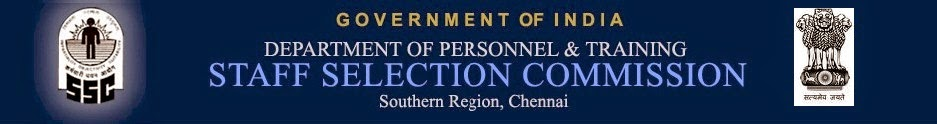 SSC Southern Region Chennai Recruitment 2014-Apply for 22 Junior Technical Assistant (JTA), Assistant Programmer (AP), Sales Assistant Posts at www.sscsr.gov.in