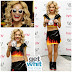 "Get WHIT It or Get LOST? Rita Ora's Latex ""Fire Started"" Two Piece by Meat Clothing"