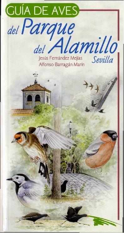 Guía de aves del Parque del Alamillo de Sevilla