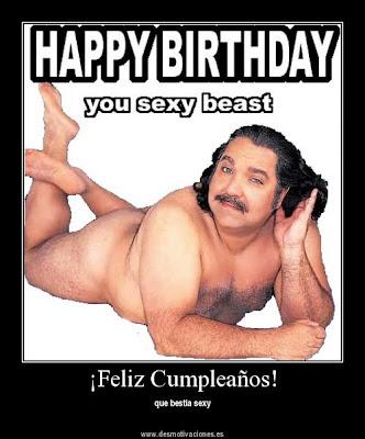 Muy feliz cumpleaños Sir Birthday+sexy