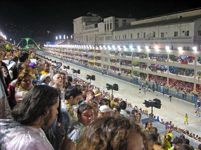 Ingresso carnaval RJ - arquibancada do Sambódromo