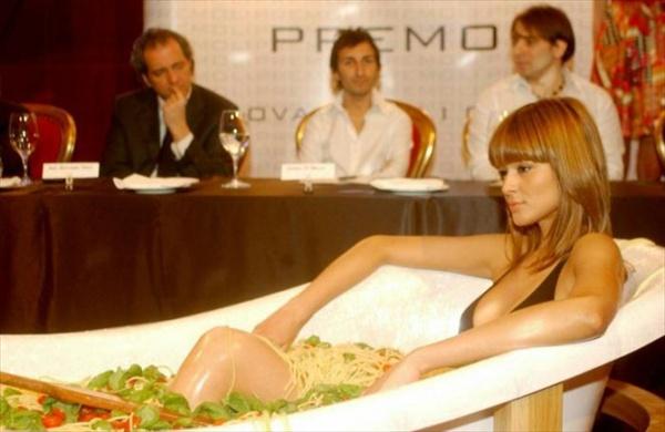 Ванна и паста против анорексии!