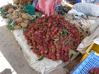 Ramboutans au Sri Lanka