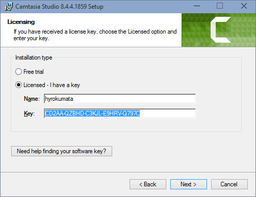 camtasia studio 9.1 serial key