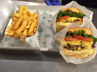 Shake Shack burgers Fries shakes