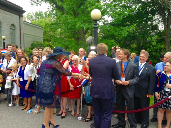 Queen Maxima and King Willem-Alexander's Visit To Canada