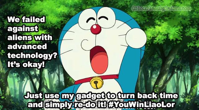Doraemon meme space heroes burger director