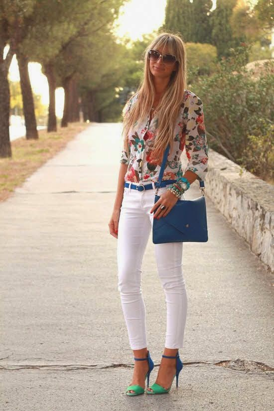 Warm Shirt with Jeans