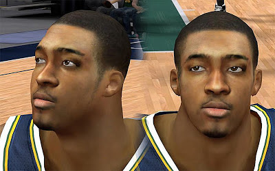 NBA 2K13 Derrick Favors Cyberface Patch