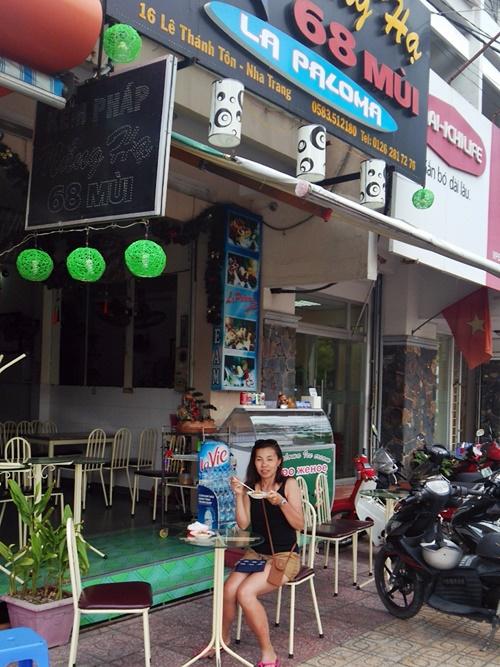 ニャチャン 美味しいバインフラン(ベトナム焼きプリン)の店 ラ・パロマ