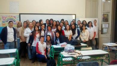 Protagonistas: Estudiantes de formación docente de Gualeguay, Entre Ríos, Argentina