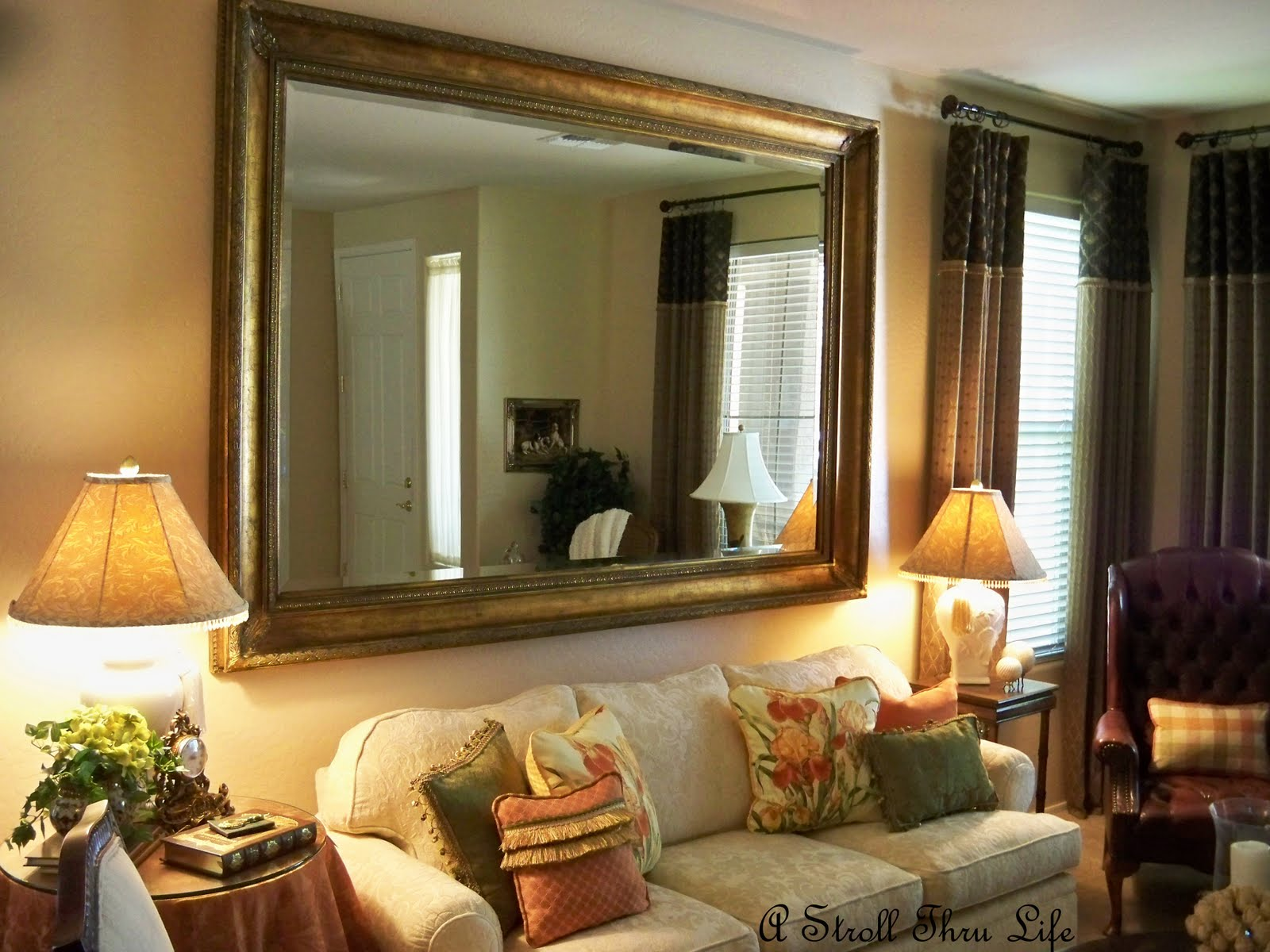 Large Living Room Mirrors - decorating living rooms