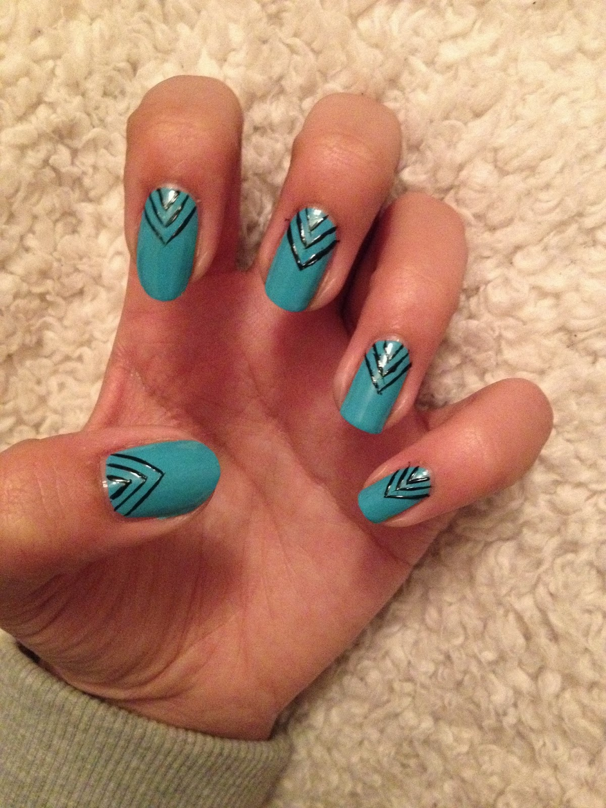 Drawing Lines On Nails : Sunday night nails charlie distracted