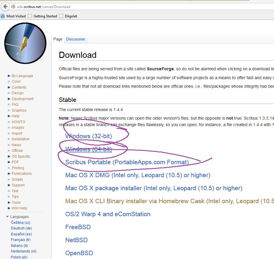 scribus download windows 10 64 bit italiano
