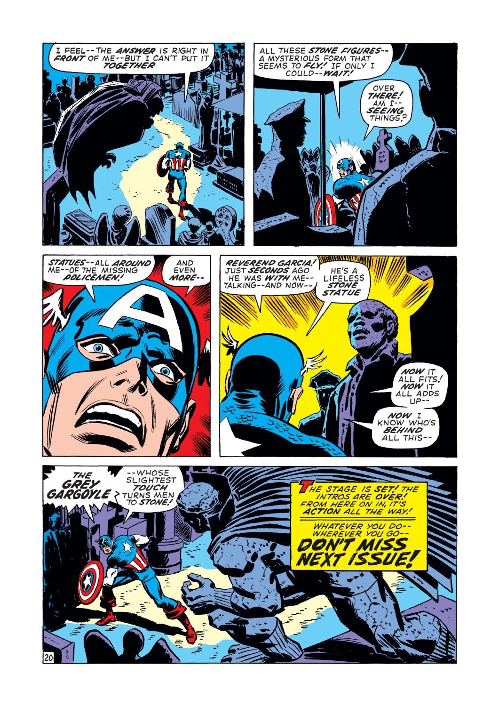 Captain America (1968) Issue #139 #53 - English 21