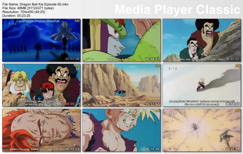 "Download Film / Anime Dragon Ball Kai Episode 92 ""Air Mata Kemarahan"