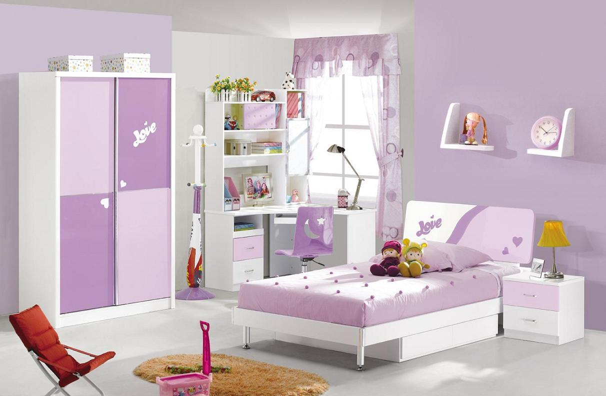 Girls Bedroom Furniture: The Beach Condo Ideas
