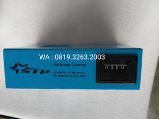 Darmatek Jual STP FLRC-S/R-43 Analogue Type Lightning Counter