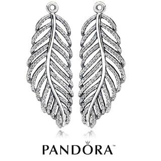 Pandora Silver Micro Cubic Zirconia Earring
