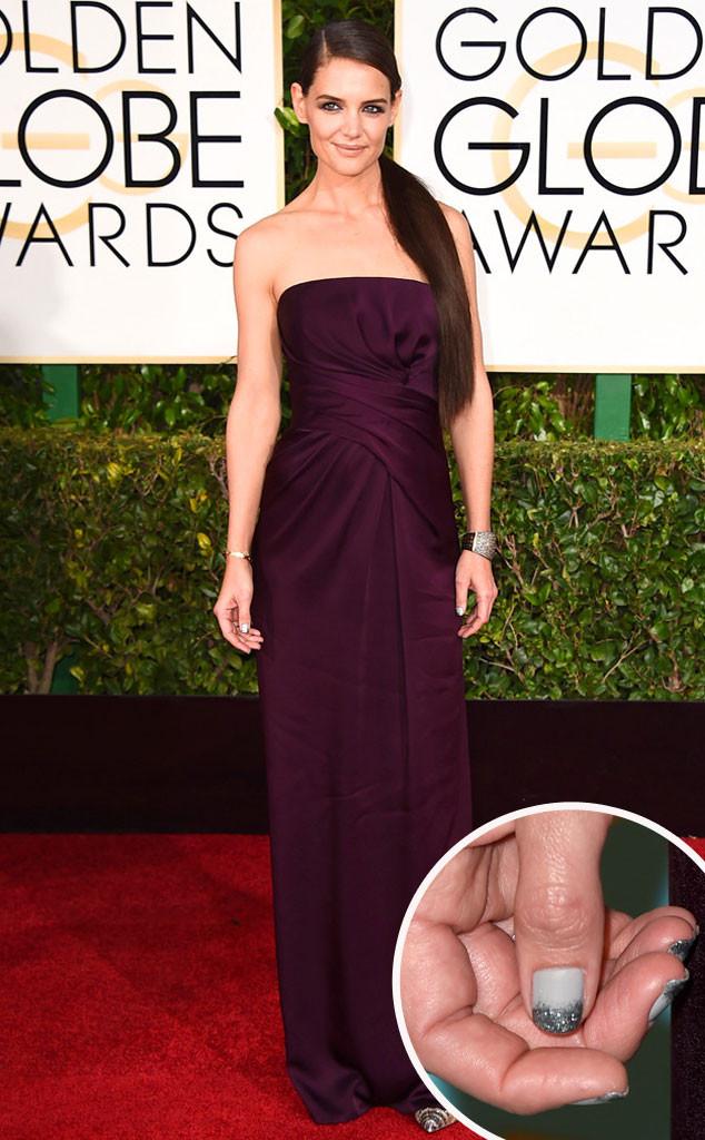 Katie Holmes Golden Globes