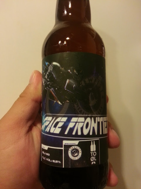 бутылка виноградного ИПА BrewFist Space Frontier