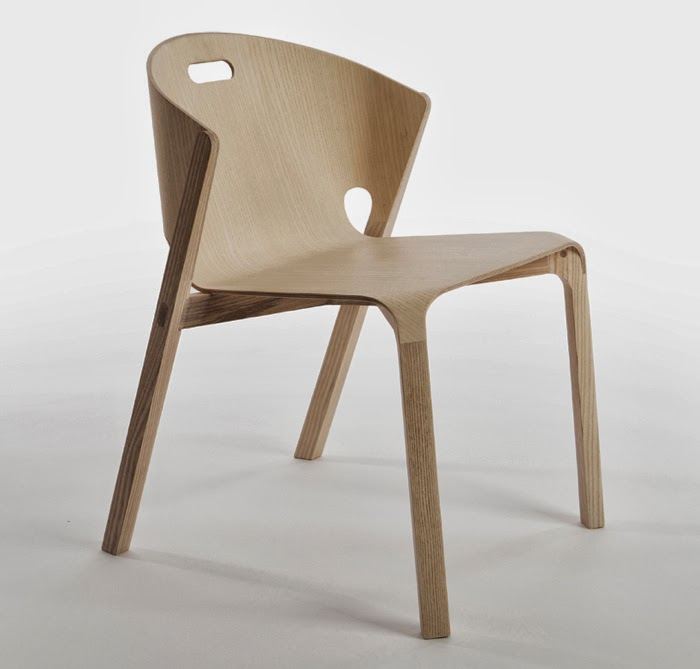 Pelt chair Benjamin Hubert