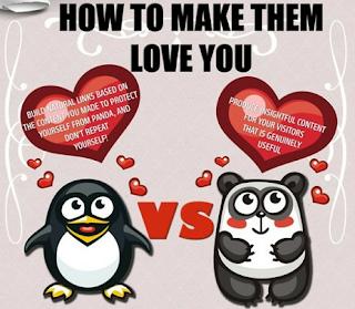 Google panda y pinguino