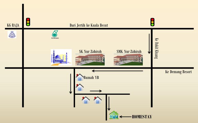 Peta Putra Inn