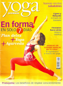 Ramchandani en el Yoga Journal