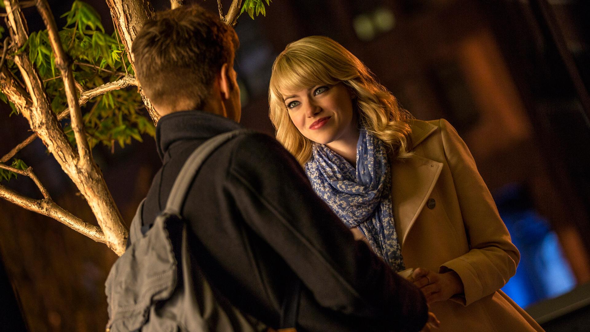 Emma Stone and Andrew Garfield 1q Wallpaper HD