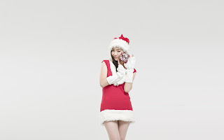 Shin Se Kyung Wallpaper HD Christmas