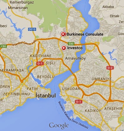 Burkina Faso Konsolosluğu İstanbul