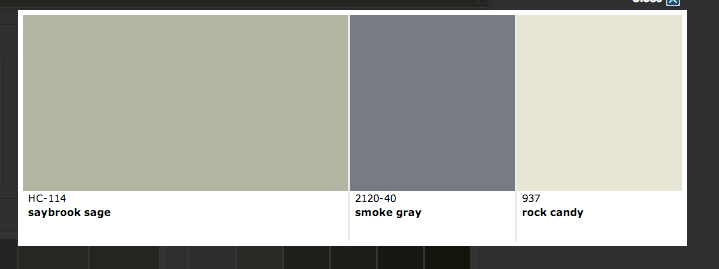 Silver gray paint