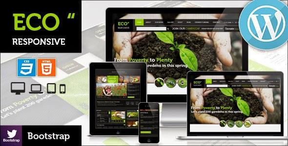 ECO v2.0 – Responsive Environment WordPress Theme