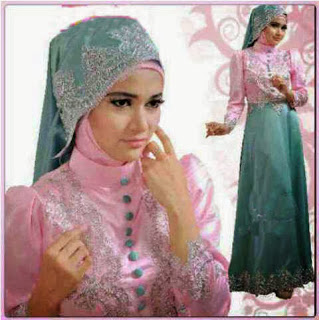 bahan satin kombi renda prada fit to L