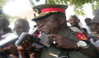 Rebeldes são problema do Senegal, mas não vamos permitir perturbações à paz - CEMGFA