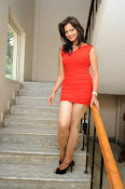 Aswini photo shoot in Red-thumbnail-6