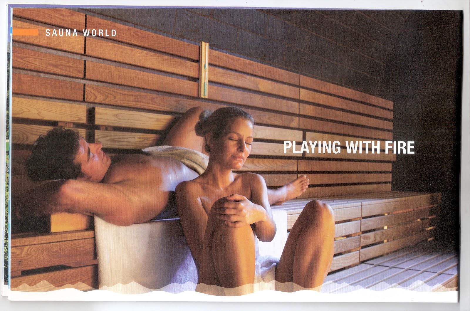 Sauna at Alpentherme in Bad Hofgastein,Austria