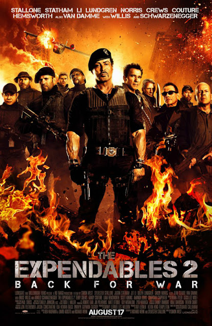Poster de The Expendables 2