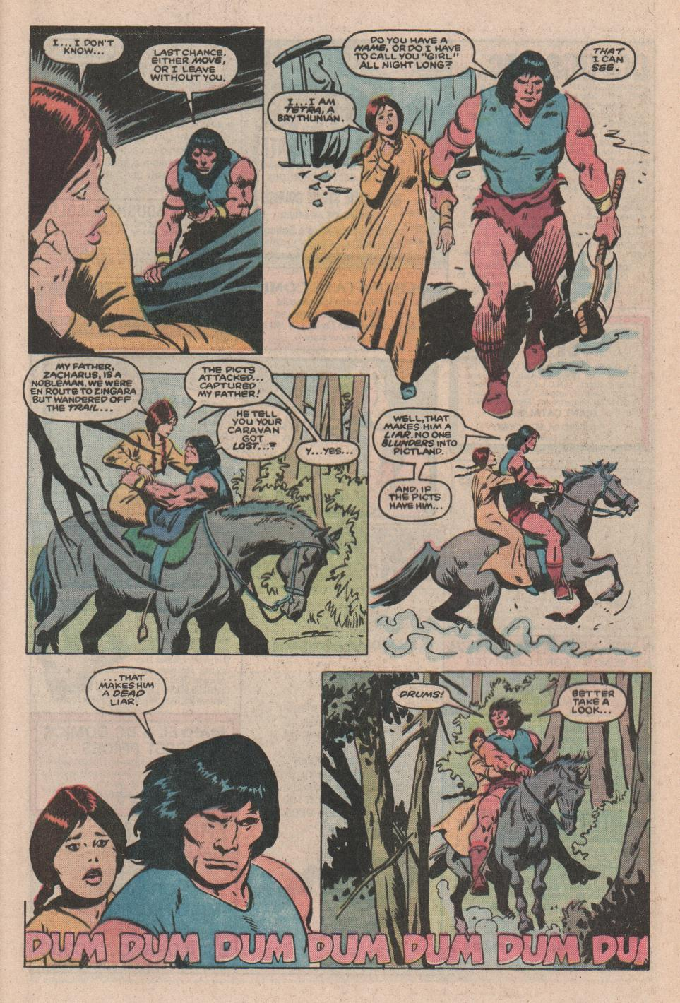 Conan the Barbarian (1970) Issue #172 #184 - English 9