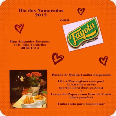 Sugestão para comemorar o Dia dos Namorados 2012: Fayola Bar e Restaurante (foto: Érica Matos - Kika)