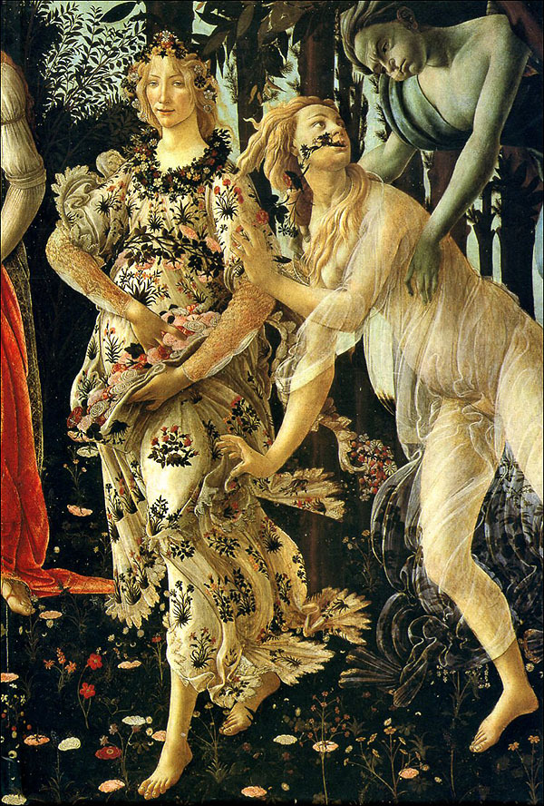 sandro botticelli primavera Sandro botticelli's la primavera brings together the themes of the 15th-century  into one allegorical, mythologically influenced, and yet.