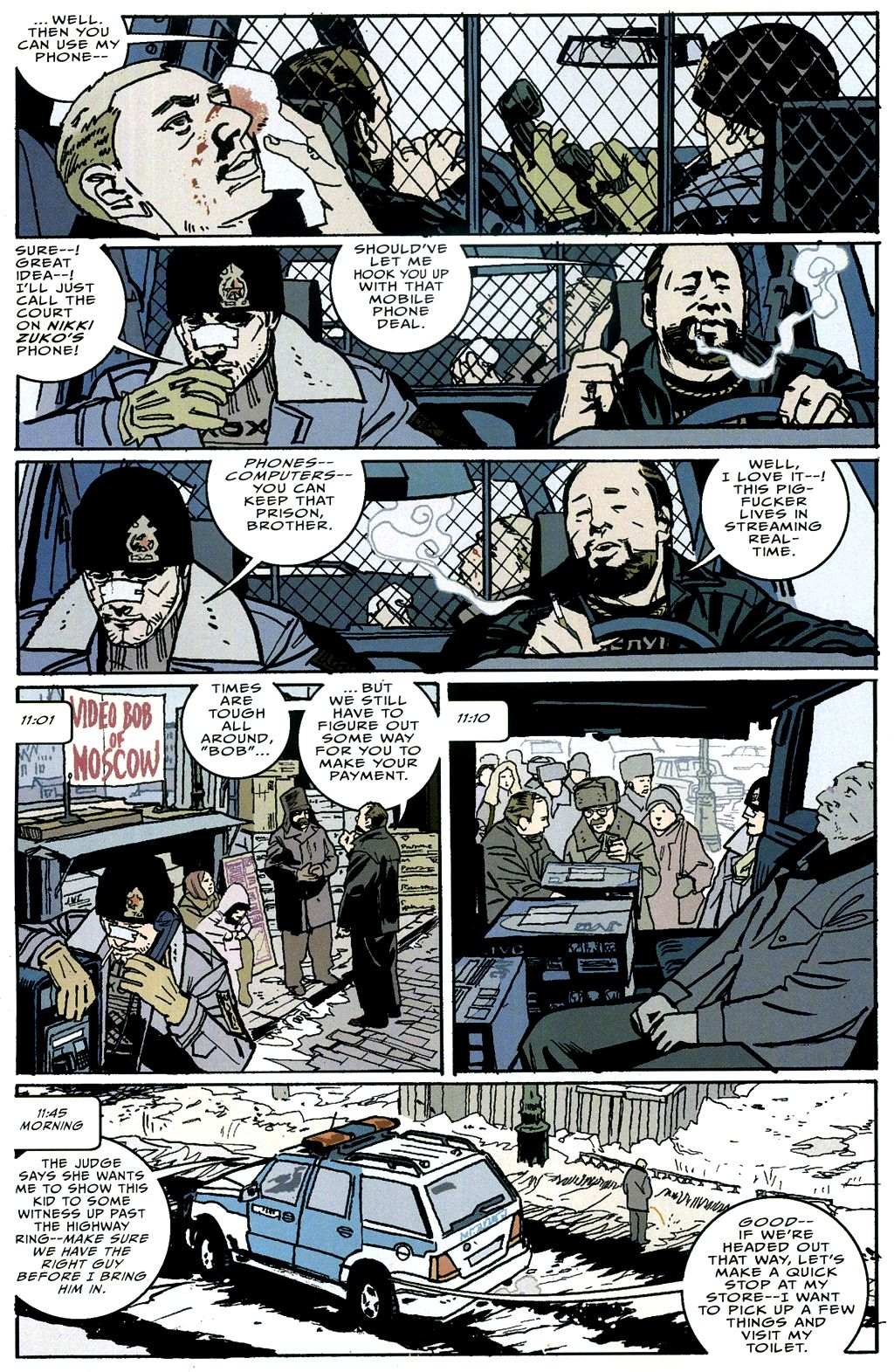 Read online The Winter Men comic -  Issue #4 - 7