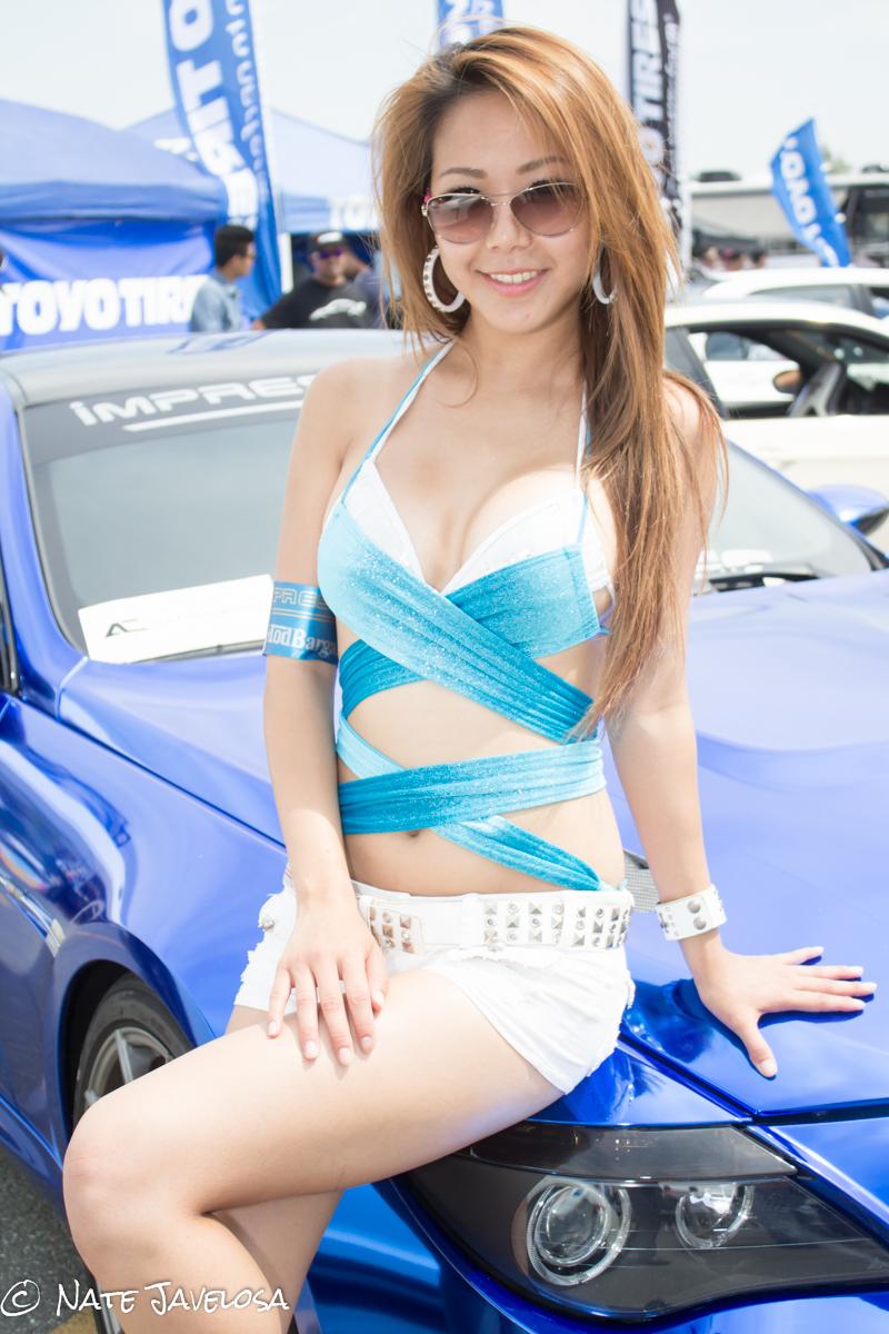 nate javelosa  autocon los angeles 2013  models bring that
