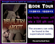 Deviltry Afoot Book Tour & Giveaway!