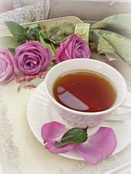 A cup of tea is good for the soul....
