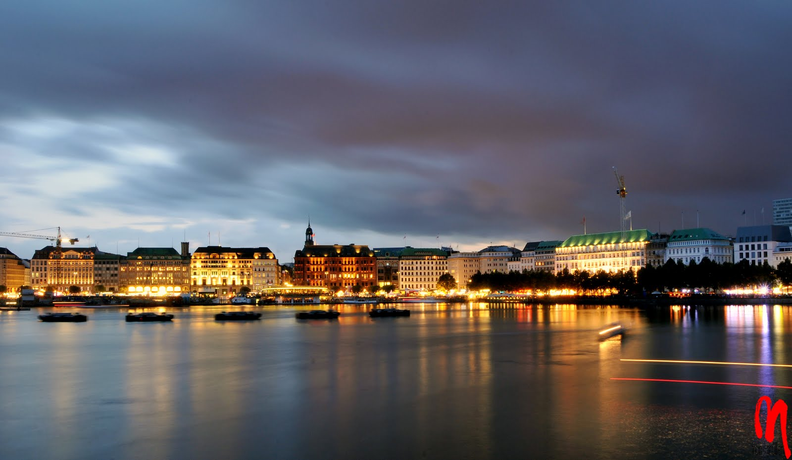 Hamburg Germany  city pictures gallery : Hamburg Germany Skyline