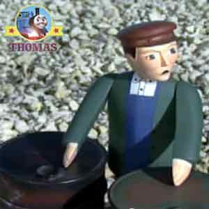 Island of Sodor Ffarquhar mine manager was very upset it was not a good day for the Sodor diesels