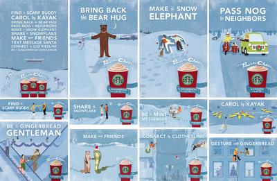 Starbucks Decaf Christmas Blend