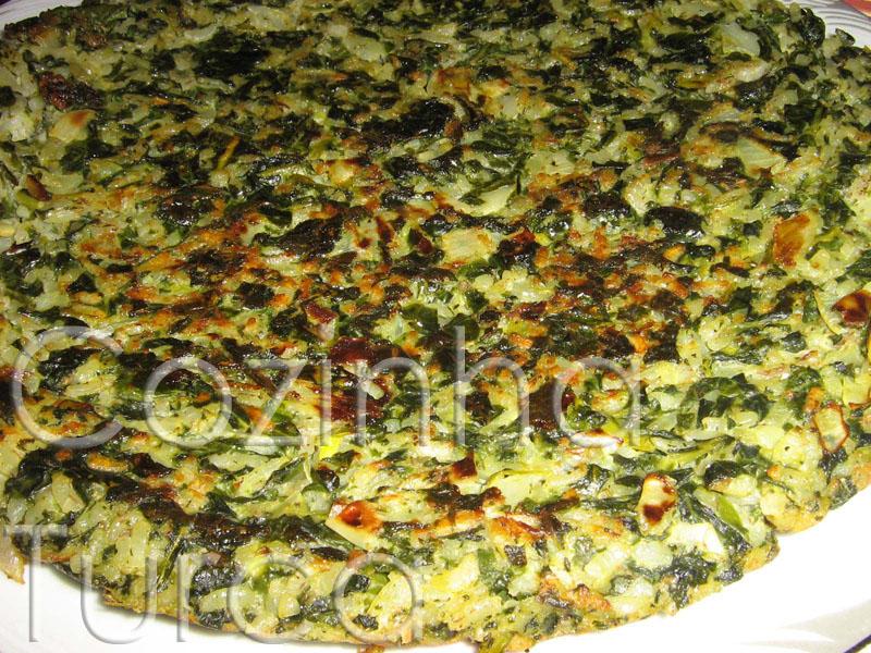 Tortilha de Acelgas (Pezik Mücveri)